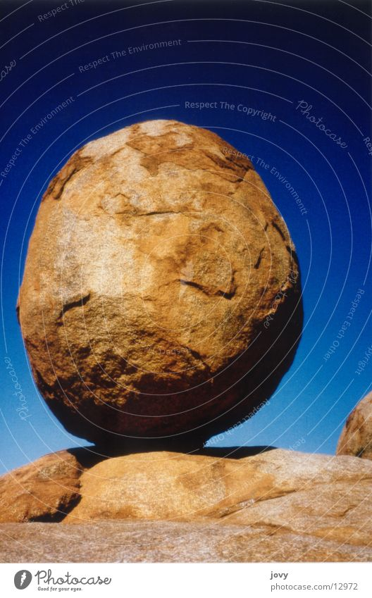 Devils Marbles Round Australia Calm Contentment Vacation & Travel Stone Gold Nature Sphere Egg