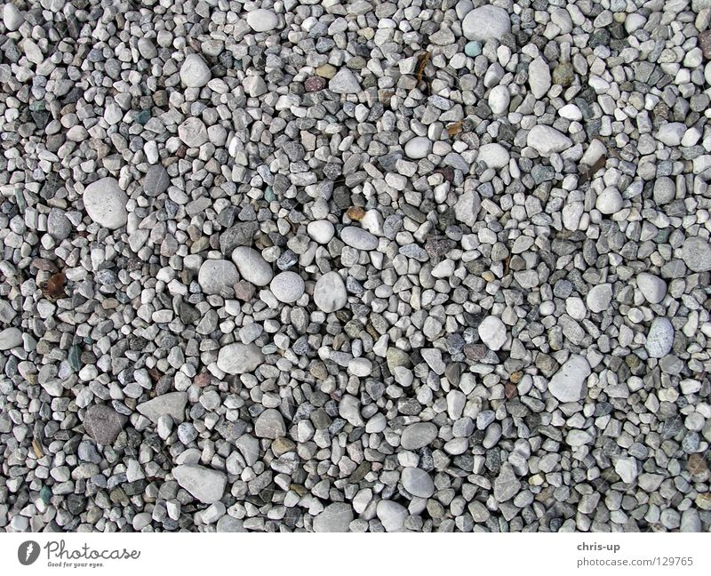 Gravel Texture Pebble Background picture Structures and shapes Grain Grain of sand Round White Brown Gray Black Beach Stone floor Earth Sand