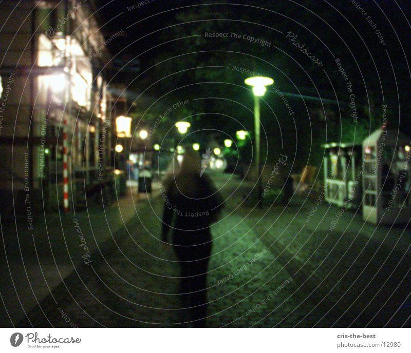 go a way Dark Downtown Club night alone