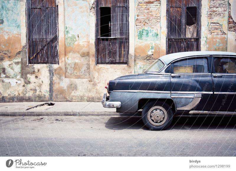 Vacation & Travel City Old Window Street Senior citizen Facade Contentment Car Authentic Esthetic Broken Historic Serene Exotic Vintage