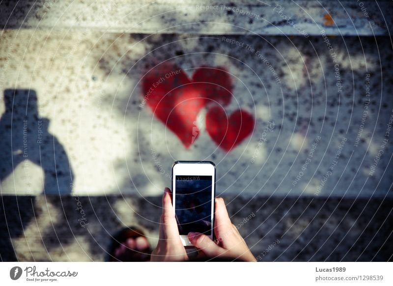 Hand Red Eroticism Love Graffiti Style Lifestyle Art Together Friendship Design Stairs Elegant Creativity Heart Fingers