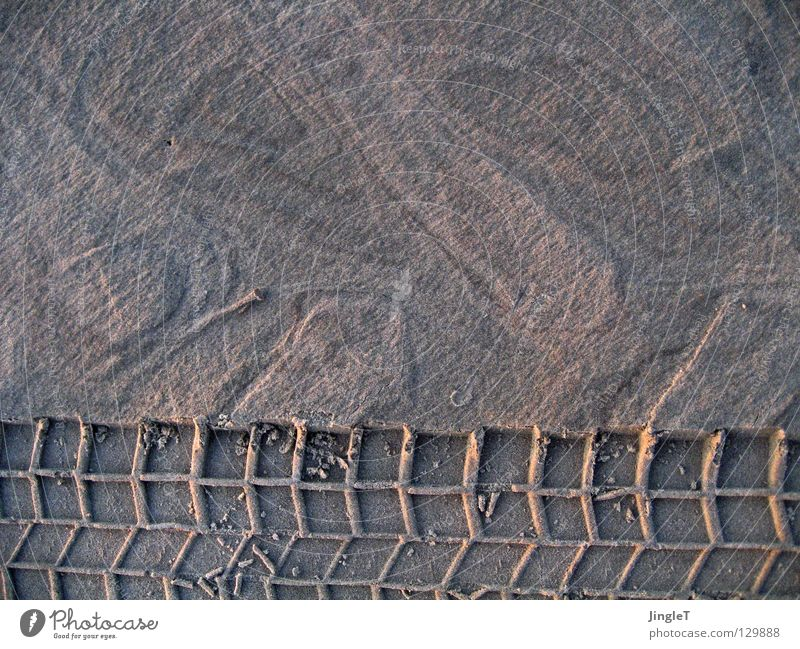Beach Sand Waves Coast Tracks Footprint Tire Mixture Salt Formation Tide Legacy Imprint Skid marks Sediment