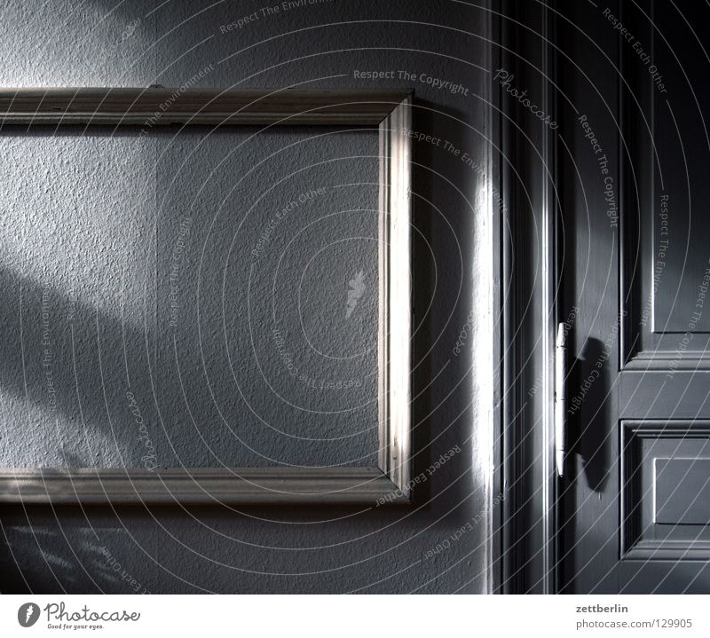Calm Wall (building) Room Wait Flat (apartment) Door Empty Decoration Image Living or residing Mysterious Wallpaper Universe Frame Picture frame Old building