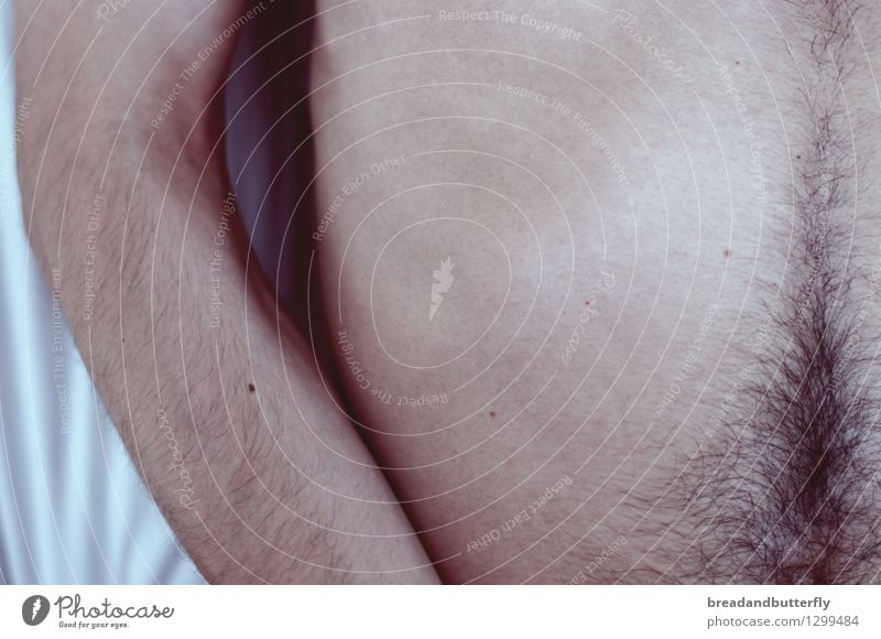 traveling the landscape of your body Human being Masculine Young man Youth (Young adults) Man Adults Arm Stomach 1 Hair Touch To enjoy Authentic Thin Near Naked