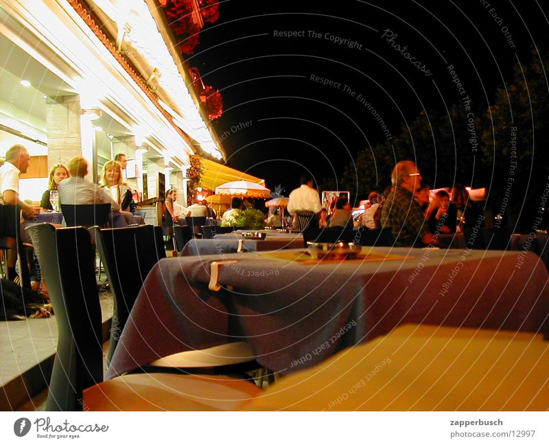 restaurant Restaurant Table Human being Vacation & Travel