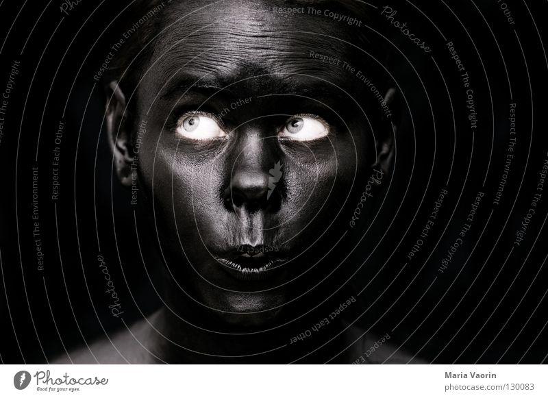 crazy black (6) Black Dark Night Dark side Mysterious Mystic Ghosts & Spectres  Aphotic Eerie Suspect Portrait photograph Woman Black market Dirty Absurdity