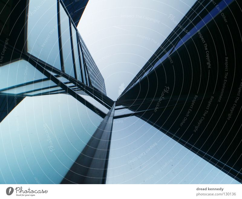 glass butterfly Colour photo Exterior shot Detail Pattern Copy Space left Copy Space right Copy Space top Copy Space bottom Evening Reflection Worm's-eye view