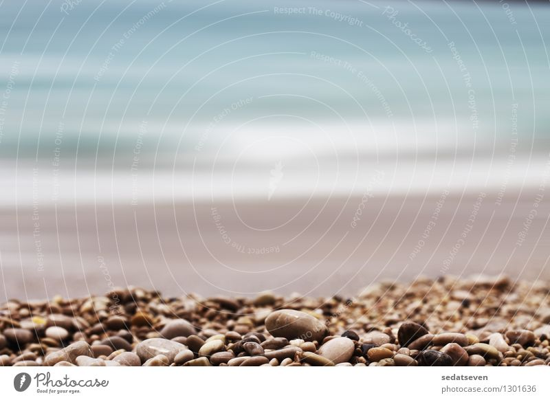 gravel depth of field background Design Relaxation Vacation & Travel Summer Beach Ocean Decoration Nature Landscape Sky Rock Coast Stone Wet Natural Brown Gray