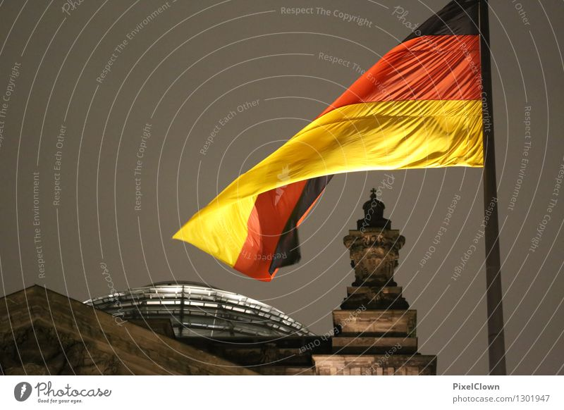 Berlin Tourism Sightseeing City trip Night life Architecture Night sky Capital city Manmade structures Building Tourist Attraction Reichstag Vacation & Travel
