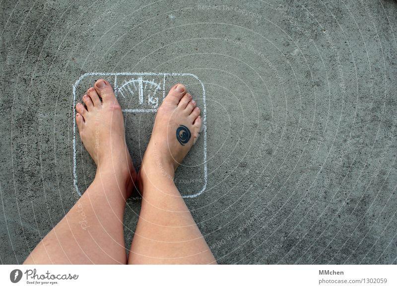 Surprise! Surprise! Beautiful Healthy Healthy Eating Fitness Overweight Life Legs Feet Scale Diet Vice Happy Contentment Joie de vivre (Vitality) Self-confident
