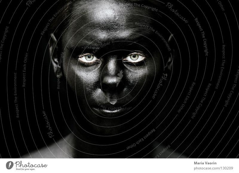 crazy black (7) Black Dark Night Dark side Mysterious Mystic Ghosts & Spectres  Aphotic Eerie Suspect Portrait photograph Woman Black market Dirty Absurdity