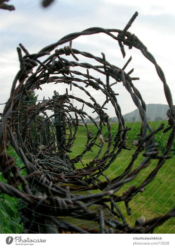 Barbed wire Photographic technology
