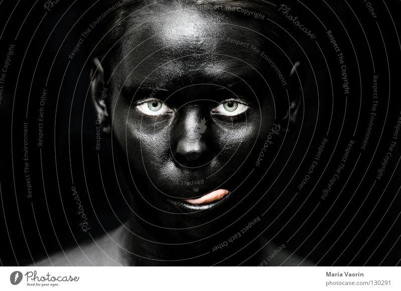 crazy black (8) Black Dark Night Dark side Mysterious Mystic Ghosts & Spectres  Aphotic Eerie Suspect Portrait photograph Woman Black market Dirty Absurdity