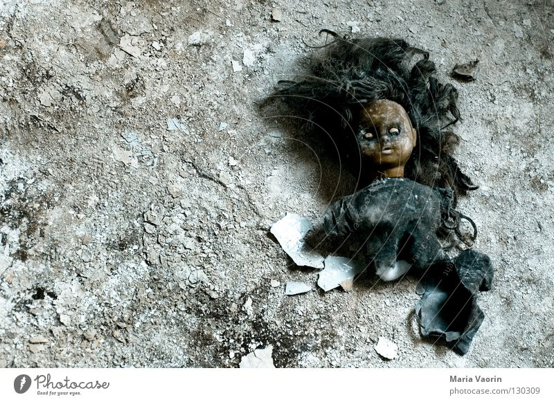 Playing Head Infancy Blonde Fear Crazy Transience Toys Creepy Make-up Obscure Doll Soul Panic Eerie Apply make-up