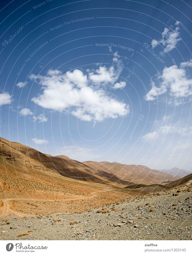 Arabian Dream XI Morocco Orient vacation Tourism Atlas Mountains mountain rock Stone