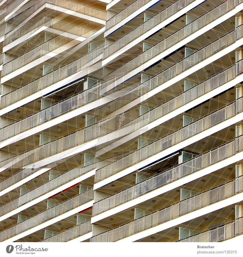 Capitalist Utopia Capitalism Majorca Ballermann Spain Costa del Sol Costa Brava Italy Vacation & Travel Cheap Hotel House (Residential Structure) Balcony West