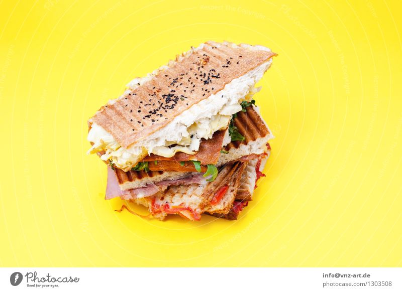 sandwiches Sandwich Snack Toast Workshop Flash photo Colour Dish Healthy Eating Food photograph Meal Graphic Delicious Hearty Sense of taste Exceptional Yellow