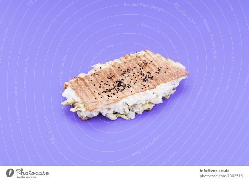 sandwich Sandwich Snack Toast Workshop Flash photo Colour Dish Eating Food photograph Meal Graphic Delicious Hearty Sense of taste Exceptional Violet Cheese