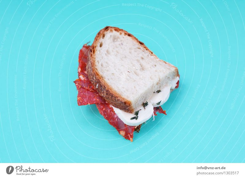 sandwich Sandwich Snack Toast Workshop Flash photo Multicoloured Dish Eating Food photograph Meal Graphic Delicious Hearty Sense of taste Exceptional Turquoise