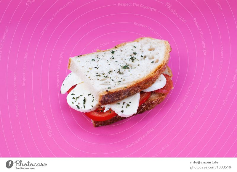 Dish Eating Food photograph Exceptional Pink Delicious Graphic Workshop Bread Meal Vegetarian diet Sense of taste Tomato Dried Cheese Snack