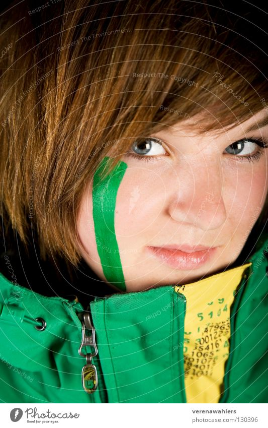 Youth (Young adults) Green Blue Face Yellow Hair and hairstyles Line Jacket