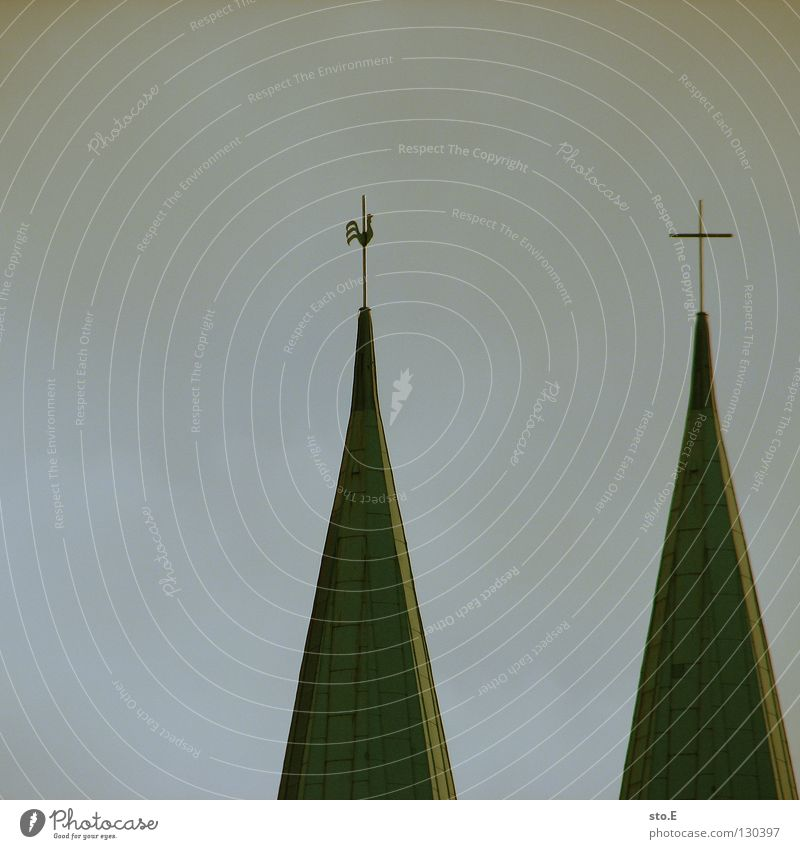 Sky Clouds Berlin Gray Religion and faith Background picture Gloomy Culture Point Square Painting and drawing (object) Symbols and metaphors Belief God