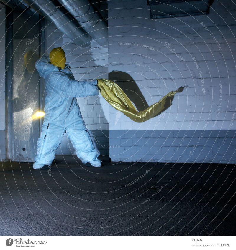 Joy Yellow Gray Speed Aviation Cloth Asphalt Mask Traffic infrastructure Suit Blanket Surrealism Parking lot Garage Textiles Magic