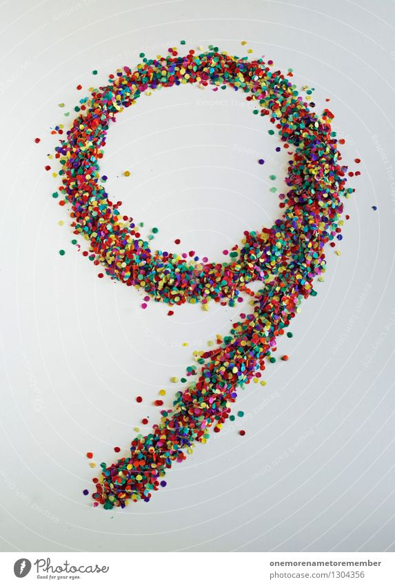 Nine how: One less than 10 Art Work of art Youth culture Event Media Print media Toys Esthetic Confetti 9 8 - 13 years Digits and numbers Many Point Home-made