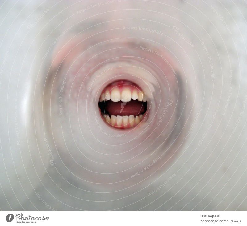 Face To talk Mouth Glass Crazy Circle Teeth Communicate Round Information Scream Listening Tunnel Direction Loudspeaker Stupid