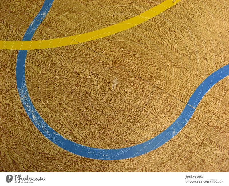 Red Yellow Life Emotions Sports Playing Line Brown Together Arrangement Waves Perspective Beginning Floor covering Ground Shows