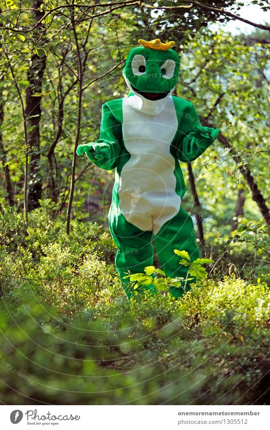 Nature Green Joy Forest Art Esthetic Carnival Hide Work of art Carnival costume Woodground Camouflage Comical Nature reserve Natural phenomenon Absurdity