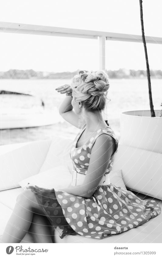 chechikng boats Vacation & Travel Relaxation Joy Life Feminine Style Playing Feasts & Celebrations Freedom Lifestyle Moody Wild Leisure and hobbies Elegant Happiness Trip