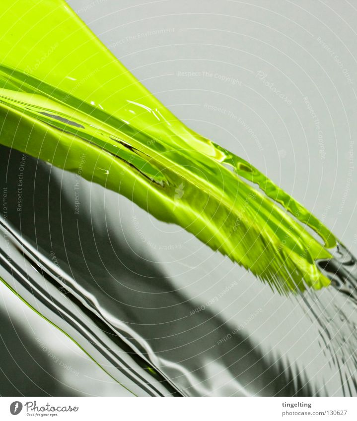 flowing Wet Damp Green Bright green Watering can Abstract Flow Transparent Fresh Undulating Near Shadow Statue Clarity