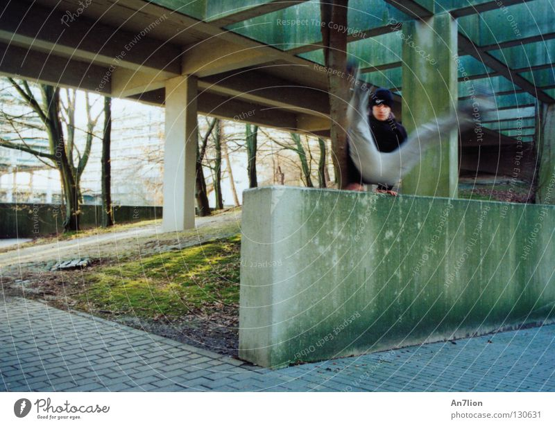 Jump Wall (barrier) Academic studies Barrier The Ruhr Education Parkour Bochum Extreme sports