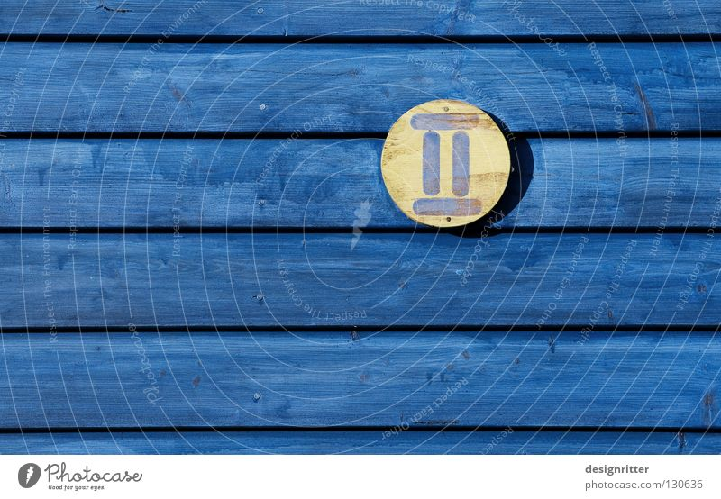 Blue Yellow Wood 2 Digits and numbers Sweden Symbols and metaphors Novel Wooden house House number