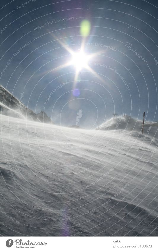 snowfun Ski resort Winter Snow Mountain Ski run Nature Sky Sun Sunlight Ice Frost Snowfall Alps Peak Snowcapped peak Glittering Ischgl Austria Flashy Spray