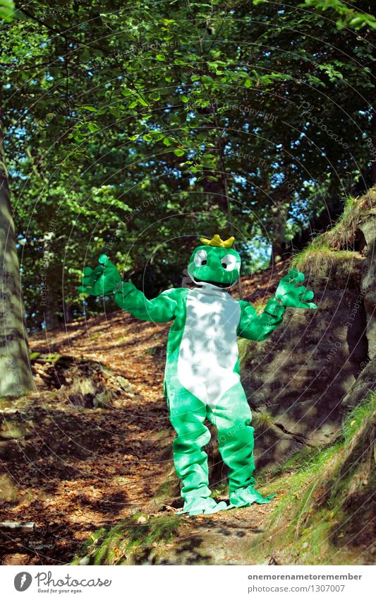 Green Joy Forest Art Esthetic Frog Work of art Carnival costume Woodground Frogs Comical Funster Clearing Frog Prince Frog eyes The fun-loving society