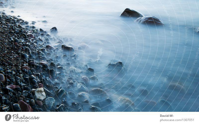 Nature Blue Beautiful Water Ocean Landscape Dark Cold Environment Coast Art Stone Lake Rock Ice Fog