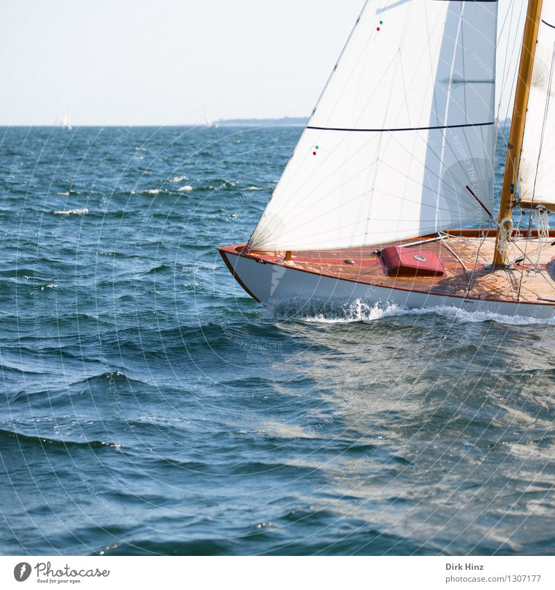 Sailing on the Baltic Sea Lifestyle Relaxation Calm Vacation & Travel Tourism Trip Far-off places Freedom Summer Summer vacation Sun Yacht Maritime Blue Brown