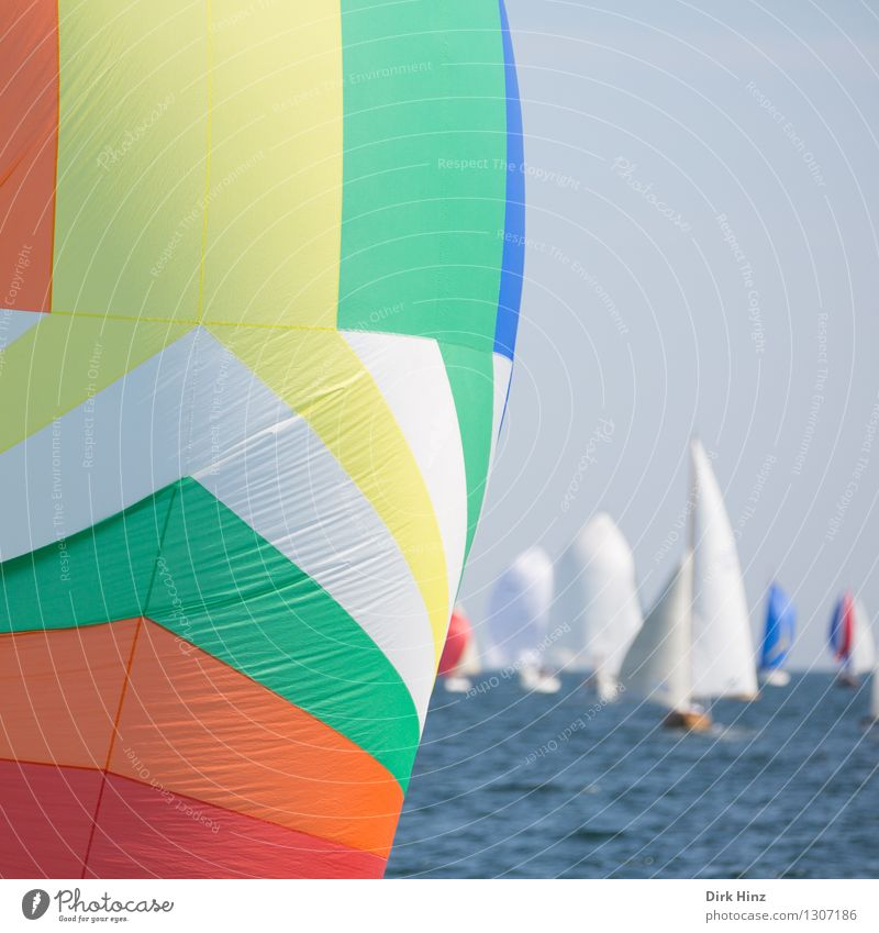 Colourful Baltic Sea bubble II Vacation & Travel Tourism Trip Far-off places Summer Summer vacation Sun Waves Sailing Yacht Fat Free Infinity Maritime Blue