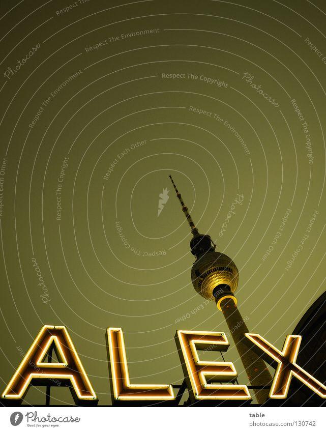 City Dark Berlin Illuminate Characters Tall Esthetic Telecommunications Monument Downtown Landmark Restaurant Tourist Attraction Capital city Train station