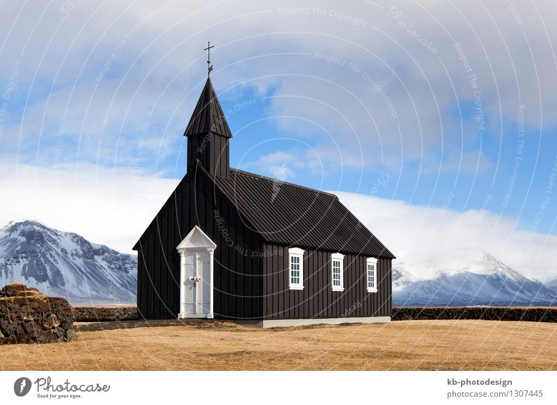 Vacation & Travel Religion and faith Tourism Church Adventure Tourist Attraction Iceland Building Snæfellsnes