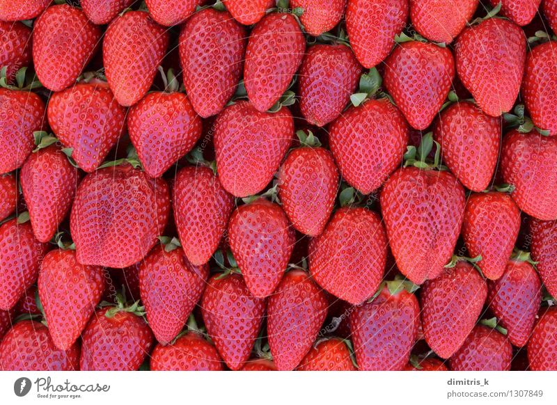 red strawberries fresh fruit background Green Colour Red Leaf Natural Fruit Fresh Nutrition Delicious Accumulation Juicy Strawberry Consistency Agricultural crop Raw Organic