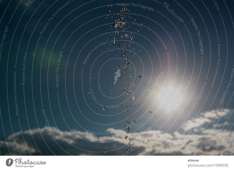 Sky Blue White Sun Clouds Joy Far-off places Cold Life Happy Design Glittering Fresh Happiness Creativity Dance