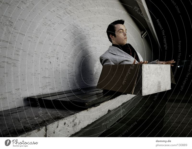 Man Joy Wall (building) Wood Hair and hairstyles Wall (barrier) Funny Fear Sit Dirty Flying Concrete Nose Lie Free Aviation