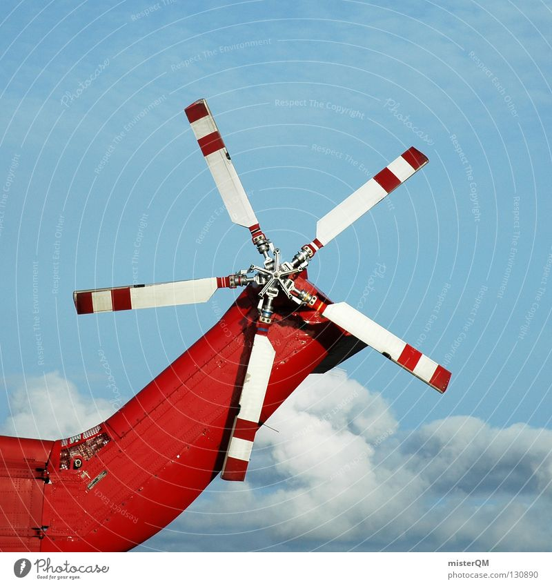 White Red Clouds Flying Tall Technology Airport Machinery Rescue Renewable energy Helicopter Rotor Rescue helicopter