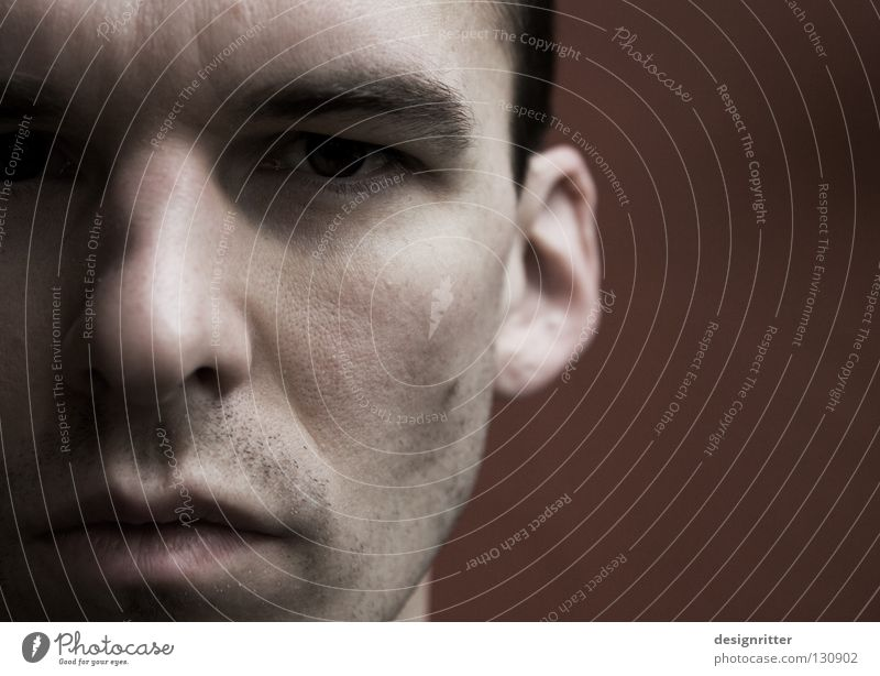Man Face Eyes Relaxation Style Think Mouth Contentment Nose Free Perspective Peace Observe Contact Concentrate Fluid