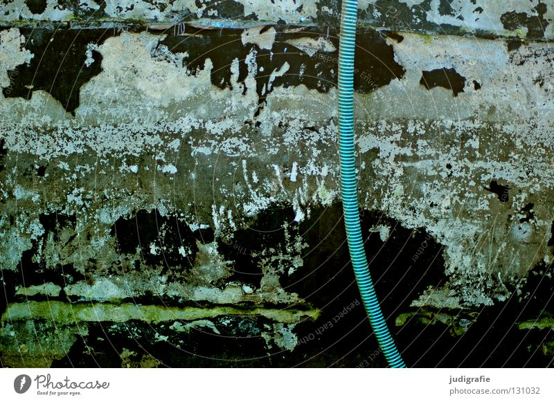 Old Green Blue Black Colour Background picture Swimming pool Floor covering Putrefy Transience Derelict Decline Turquoise Shabby Map Crack & Rip & Tear
