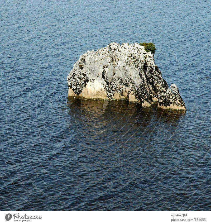 Water Ocean Loneliness Life Stone Power Waves Rock Hope Island Islands Islands Islands Islands Climate change Decent