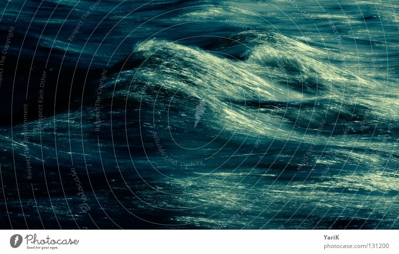 Water Ocean Blue Dark Cold Lake Waves Wind Wet River Soft Threat Gale Passion Damp Smooth